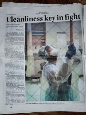 EVS team recognized in local paper