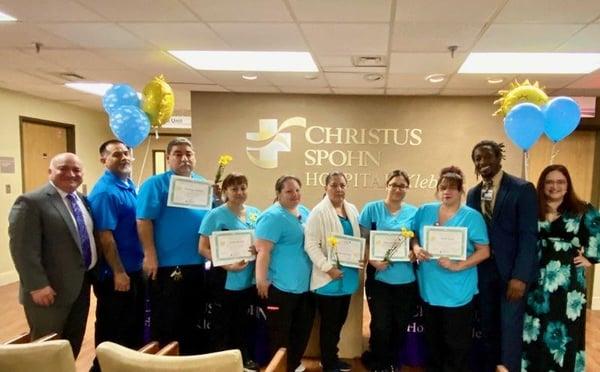 HHS EVS Team CHRISTUS Spohn