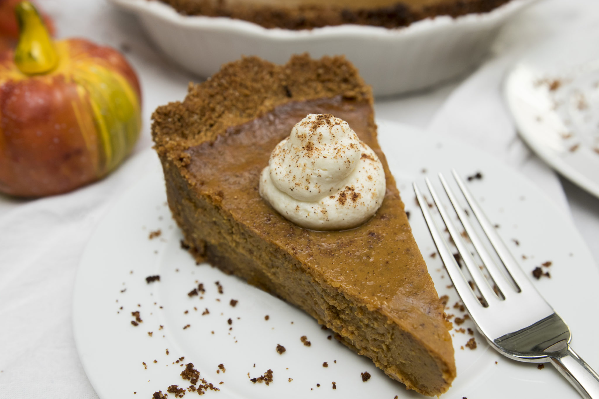 pumpkin pie recipe cream cheese graham cracker crust