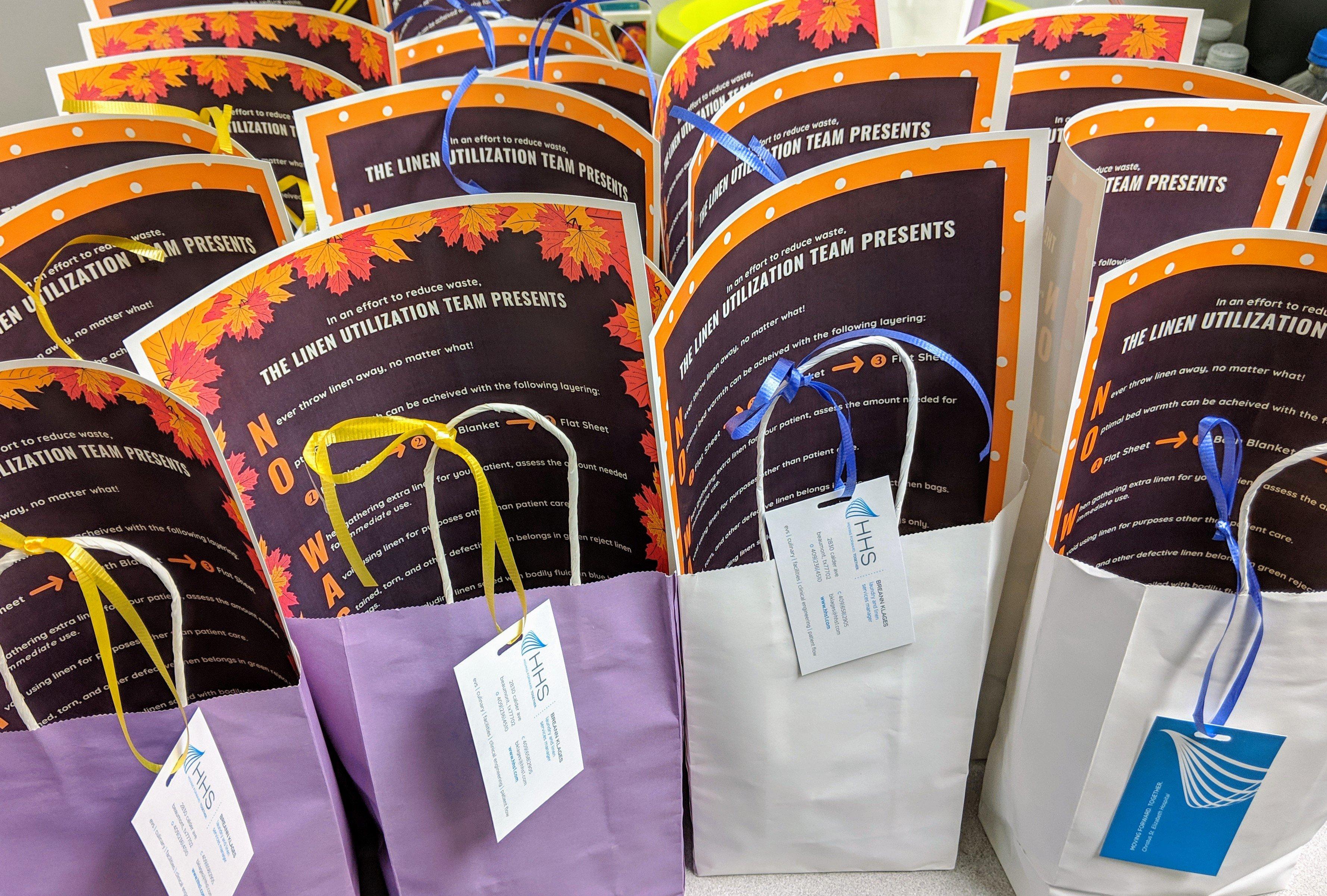 No Waste November LUM Bags