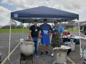 lake charles gumbo cookout