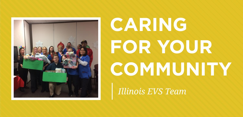tm caring for community highlight-january-illinois evs team
