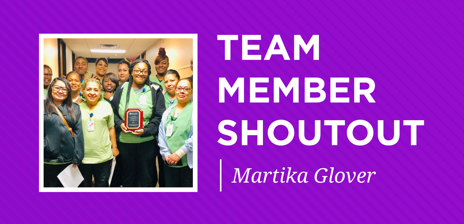 tm shoutout highlight-january-martika glover